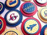 Planes, Trucks and Boats Cupcake Toppers ($10)