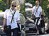 Pictures of Charlize Theron in LA
