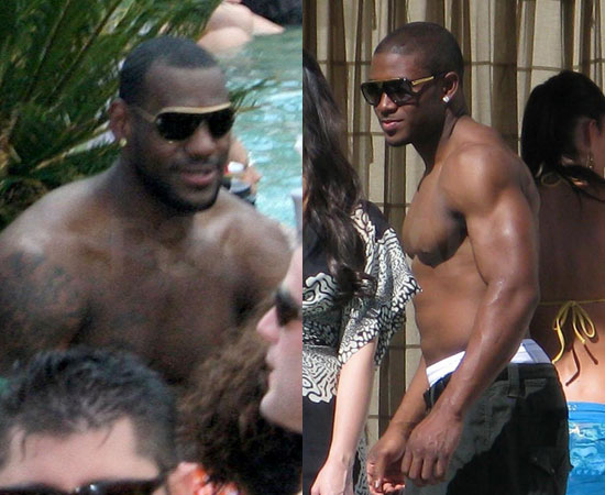 LeBron James vs. Reggie Bush