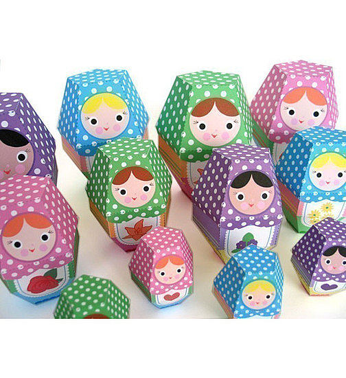 Rose Matryoshka Nesting Doll ($3)