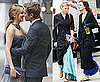 Pictues of Chace Crawford and Katie Cassidy Close To A Kiss On Gossip Girl Set