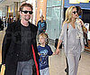 Slide Picture of Kate Hudson, Matthew Bellamy, and Ryder at Airport in London