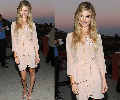 Marisa Miller at the 9th Annual InStyle Summer Soiree