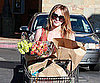 Slide Picture of Hilary Duff Grocery Shopping