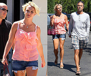 Pictures of Britney Spears and Jason Trawick in LA 2010-08-23 07:45:00