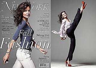 Pictures and Quotes From Katie Holmes in New York Magazine 2010-08-16 09:15:00