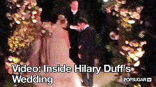 Video of Hilary Duff Getting Married