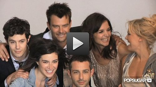 Katie Holmes, Josh Duhamel, Adam Brody & Cast of The Romantics J.Crew Collection Photo Shoot Behind the Scenes 2010-08-18 03:00:00