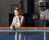 Slide Picture of Michelle Williams Filming in Toronto
