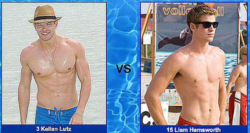 Kellan Lutz vs. Liam Hemsworth — Battle of the Hearthrobs!