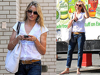 Pictures of Cameron Diaz in New York