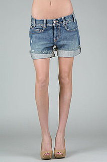 Denim Boyfriend Cutoffs