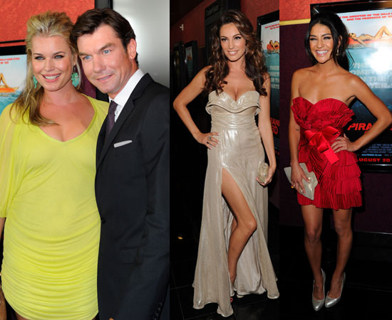 Pictures of Piranha 3D Premiere Inc Kelly Brook's Naked Month, Jessica Szohr, Riley Steele, Rebecca Romijn, Jerry O'Connell
