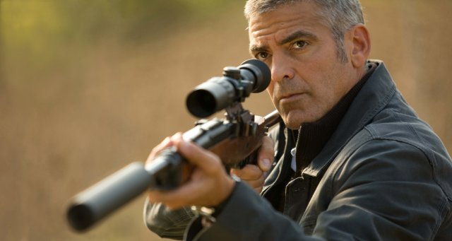 Photos of George Clooney From The American