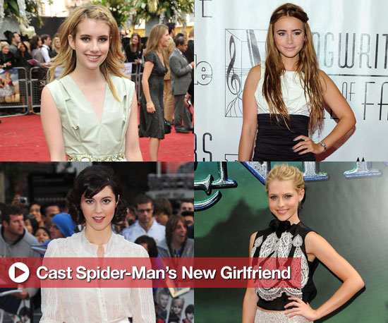 Cast Spider-Man's New Love Interest