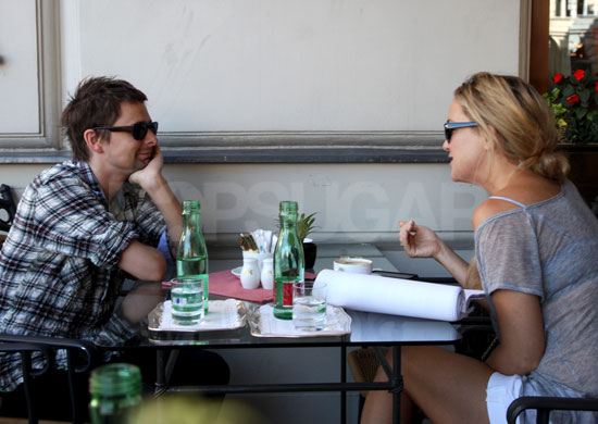 Pictures of Kate Hudson and Matthew Bellamy