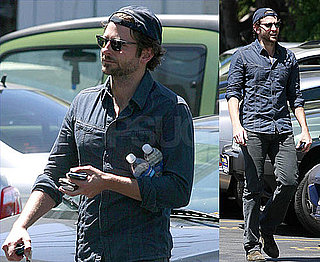 Pictures of Bradley Cooper Going Solo For Lunch as He and Renee Get Ready to Work Together Again