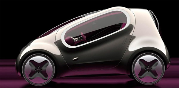 Photos of the Kia Pop Concept Car