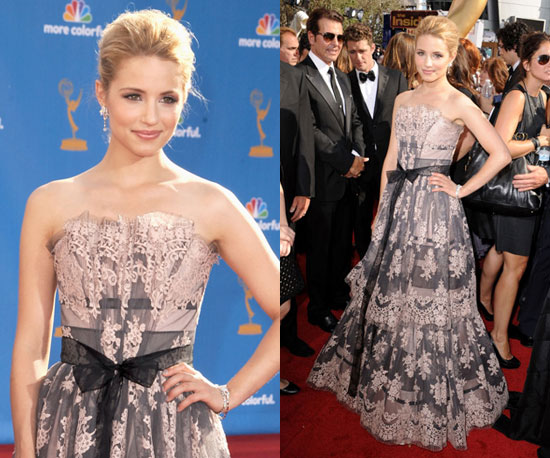 Dianna Agron at 2010 Emmy Awards 2010-08-29 17:16:48
