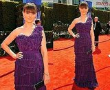 Emily Deschanel at 2010 Emmy Awards 2010-08-29 15:53:57
