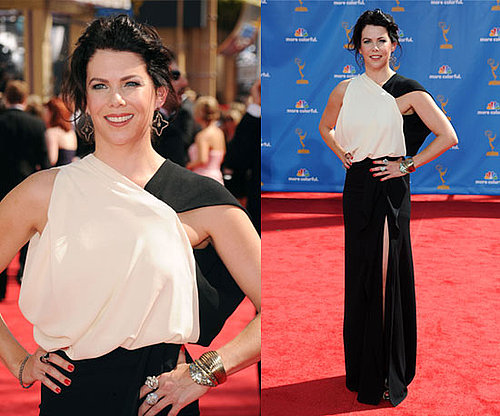 Lauren Graham at 2010 Emmy Awards