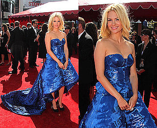January Jones in Versace at 2010 Emmy Awards 2010-08-29 17:00:39
