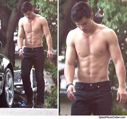 Taylor Lautner: Different Movie, Still Shirtless