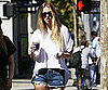 Slide Picture of Whitney Port Getting Coffee in LA