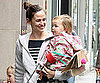 Slide Picture of Jennifer Garner with Seraphina in New York