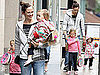 Pictures of Jennifer Garner With Violet and Seraphina in New York