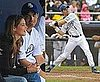 Pictures of Ashley Greene With Joe Jonas at Road Dogs Baseball