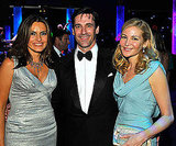 Jon Hamm, Jennifer Westfeldt, and Mariska Hargitay partied together at the Governor's Ball in 2009.