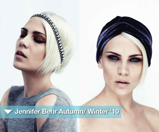 Jennifer Behr Autumn/ Winter '10: Pretty, Edgy Gypsy Princess
