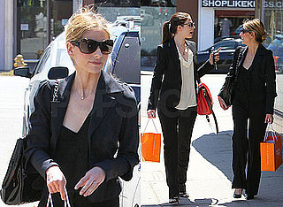 Sarah Michelle Gellar and Michelle Trachtenberg Gossip and Shop For Baby Gear in LA