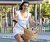 Slide Picture of Lea Michele Filming Glee 2010-08-27 11:30:00