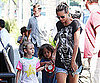 Slide Picture of Heidi Klum With Kids in LA