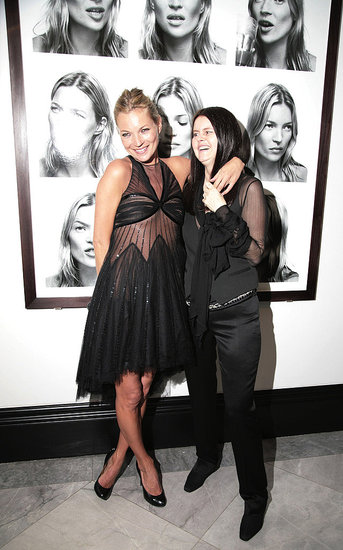 Kate Moss and Corinne Day in Feb. 2007