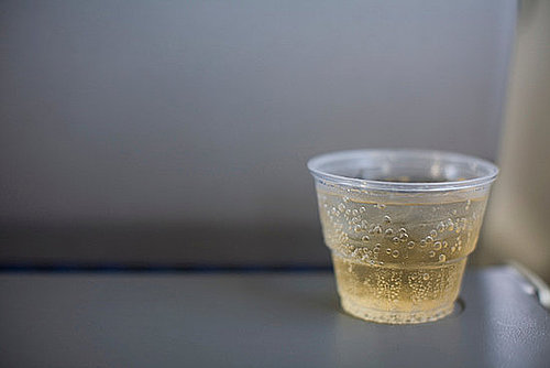Cocktails and Mocktails on Airplanes