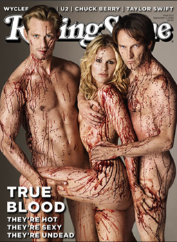 Most Eye-Popping Cover: True Blood on Rolling Stone