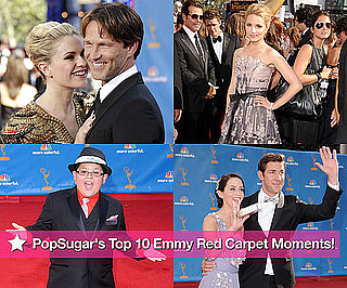 PopSugar's Top 10 Emmy Red Carpet Moments!