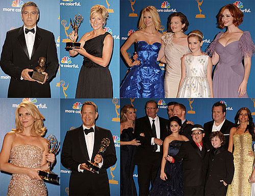 George Clooney, January Jones, Sofia Vergara and More in the Emmys Press Room