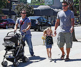 Nick and Drew Lachey Have a Lunch Date