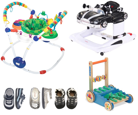 Walk This Way!  Products That Get Kids Off the Ground