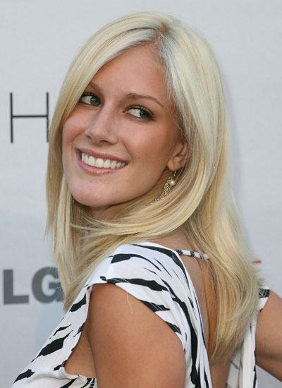 August 2007: Heidi at the Premiere of The Hills Season 3