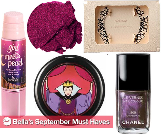 Bella's September Must Haves