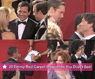 20 Emmy Red Carpet Snapshots You Didn't See!