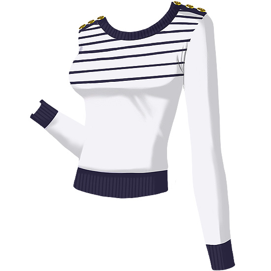 French Connection Sammy Striped Sweater