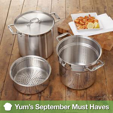 Yum's September Must Haves
