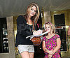Slide Picture of Ashley Greene Signing Autographs in Michigan