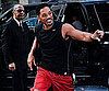 Slide Picture of Will Smith Returning Home to His NYC Hotel
